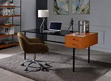 buy home office furniture online home office set 2p honey oak black oaken 92675 acme