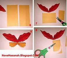 Gambar Membuat Hiasan Dinding Kupu Kertas Gambar Origami