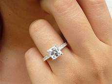square cut wedding rings wedding decor ideas