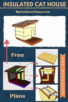 insulated cat house plans insulated cat house plans insulated cat house cat house