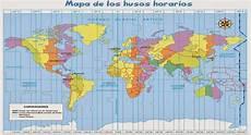 mapa husos horarios la huella del pasado en el presente