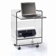 meuble pour ordinateur portable et imprimante table de lit