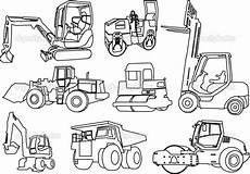Ausmalbilder Bauernhof Fahrzeuge Printable Construction Coloring Pages Truck Coloring