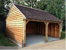Oak Framed Garage  EBay