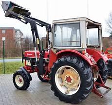 traktor mit frontlader kaufen ihc 633 oldtimer traktor mit stoll frontlader stegemann
