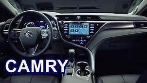 2018 Toyota Camry  INTERIOR YouTube