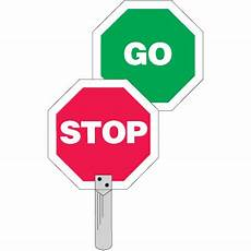 Traffic Paddles Stop Go Seton