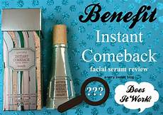 benefit instant comeback serum review a