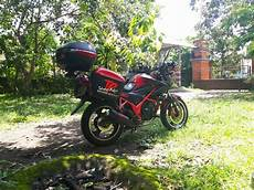 Cb150r Modif Touring by Moto Min Cb150r Modifikasi Touring