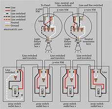 alternate 4 way switch wiring electrical 101