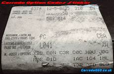 code option volkswagen option codes decoder volkswagen corrado g60