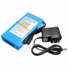 dc 12v 8000mah rechargeable portable lithium ion