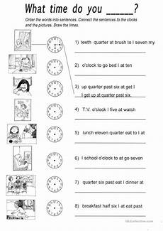 time of day worksheets esl 3795 what time do you worksheet free esl printable worksheets made by teachers