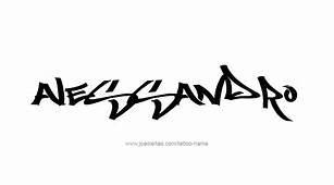 Alessandro Name Tattoo Designs