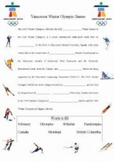 winter olympics esl worksheets 19995 vancouver winter olympic esl worksheet by supergun812