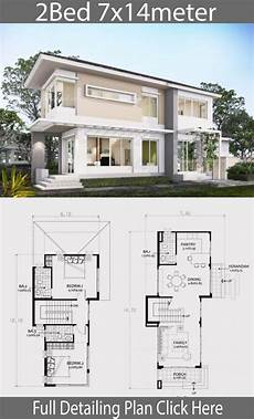 small two story home plans 75 most beautiful small two story house plan 7x14m beautiful house plans