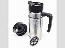Dutch Bros. Coffee Stainless Steel French Press Travel Mug