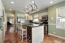 Light Green Kitchen