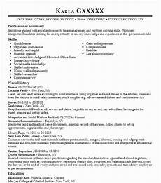 8 political science resume exles government resumes livecareer