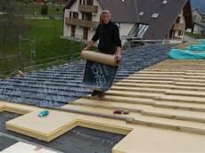 toit plat en tole tole toiture avec isolation