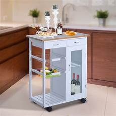 Kitchen Storage On Wheels