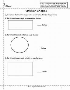 shapes worksheets second grade 1262 dividing shapes into equal parts worksheet search with images 2nd grade worksheets