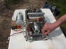 0006 v8 modellbau motor