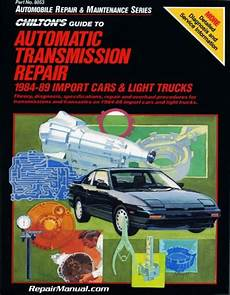 what is the best auto repair manual 1984 mitsubishi space electronic valve timing 1984 89 import cars light truck chilton transmission repair manual