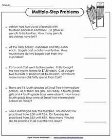 math word problems worksheets homeschooldressage com