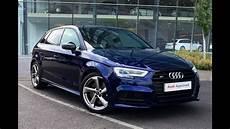 audi a3 bleu fm66bwj audi a3 s3 sportback tfsi quattro black edition