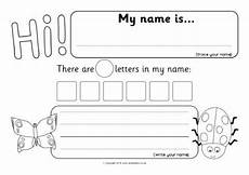 handwriting worksheets with names 21627 minibeast themed name writing worksheets