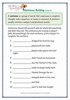 grade 3 grammar topic 35 sentence building worksheets lets knowledge