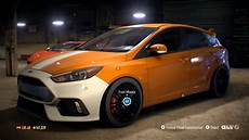 Ford Focus Rs Tuning - need for speed 2015 ford focus rs 2016 tuning free
