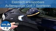 golf sportsvan elektrische heckklappe nachrüsten elektrisch anklappbare au 223 enspiegel nachr 252 sten vw golf 7
