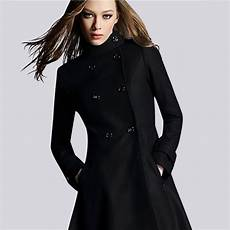 Womens Black Wool Winter Coat Search Clothes