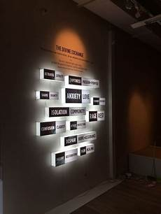 light boxes fabricated by chezrich singapore for sacrificial a multi sensory experience by