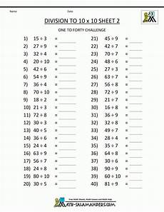 worksheets on division for grade 3 6490 printable division worksheets 3rd grade table homeschool math worksheet tables to 10 an image