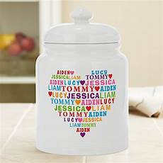 Personalised Kitchen Jars by Personalized Kitchen Gifts From Personal Creations