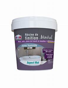 resinence r 233 sine de finition min 233 ral mat zone humide 300ml