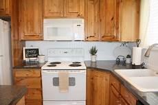 Kitchen Paneling Backsplash Diy Beadboard Backsplash Makeover Country Home
