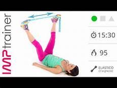 esercizi interno esterno coscia interno coscia con elastico per snellire e tonificare le