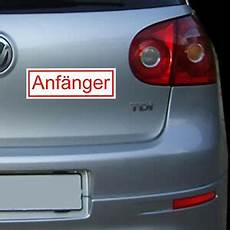 autos für fahranfänger liste magnetschild anf 228 nger auto aufkleber fahranf 228 nger kfz pkw