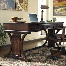 ashley furniture home office desk ashley devrik home office computer desk in brown h619 27