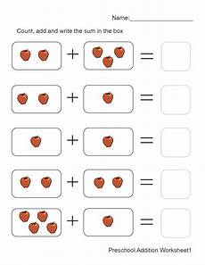 math addition worksheets kindergarten free 9327 addition worksheets with pictures 1 preschool math worksheets math addition worksheets
