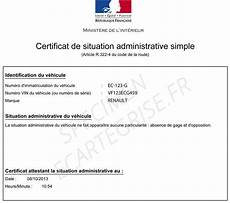 Dimension Garage Certificat De Non Gage Sous Prefecture