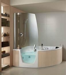 Acryl Wanne Mit Integrierter Dusche Teuco Eckmodell