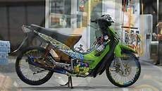 Supra 100 Modif Balap by Modifikasi Supra Fit 2004 100 Cc