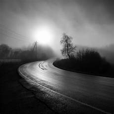 black and white road iphone wallpaper foggy country road wallpaper hd