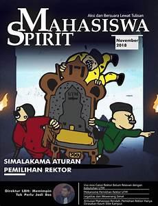 Majalah Lembaga Pers Mahasiswa Spirit Mahasiswa Edisi