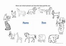 farm and zoo animals worksheet free esl printable worksheets made by teachers